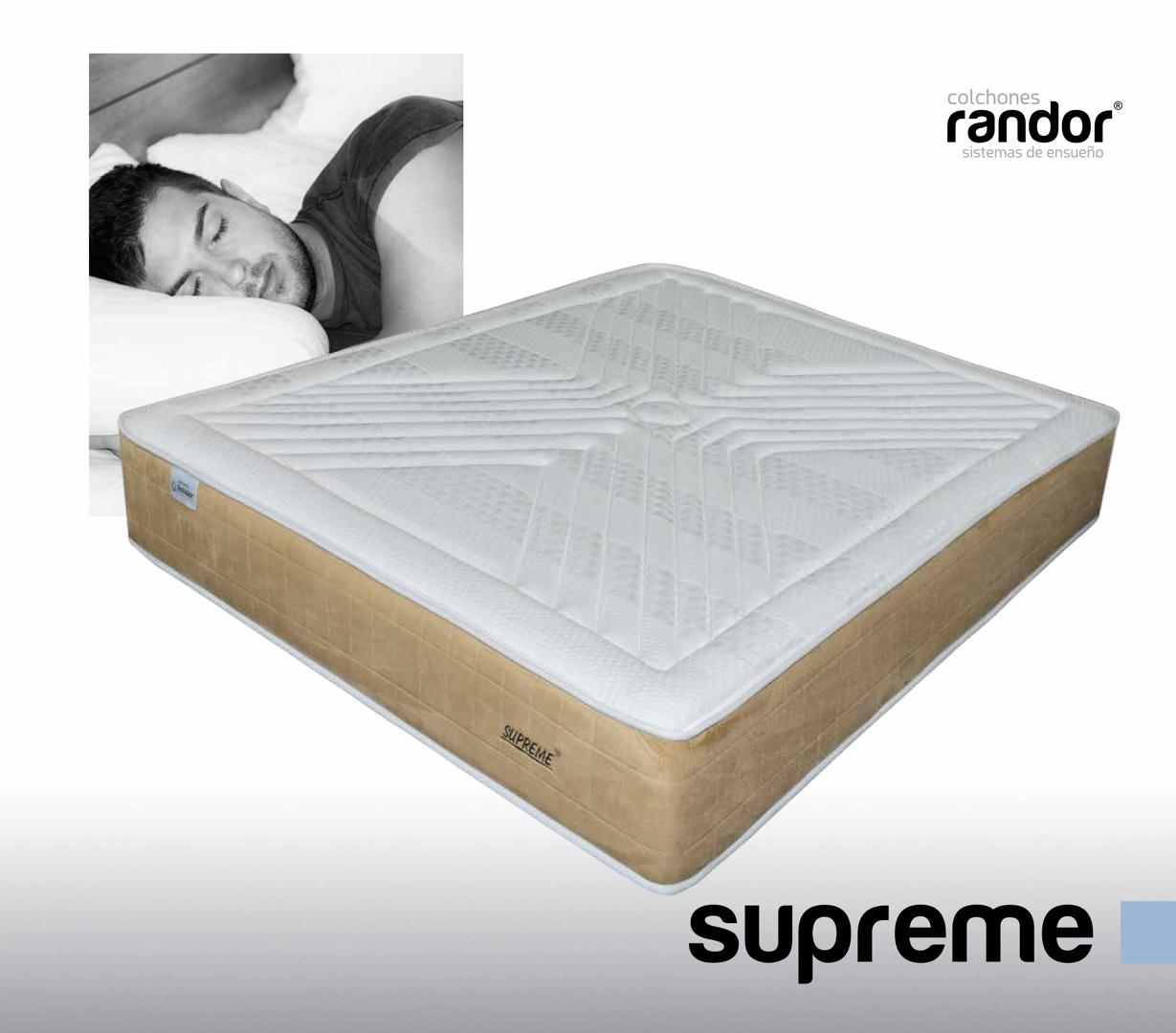colchones randor flexibles supreme