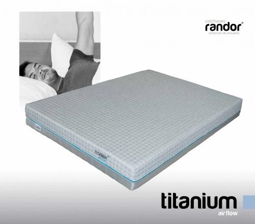 colchones randor flexibles titanium