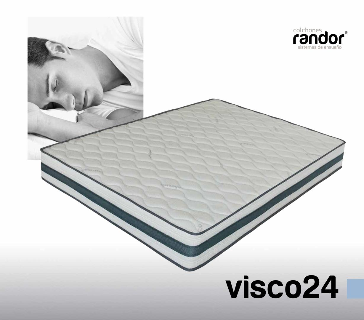 colchones randor flexibles visco24