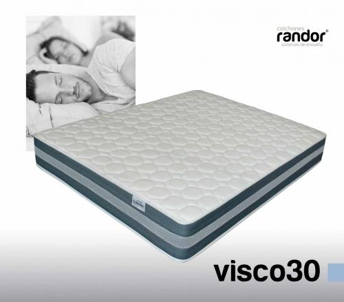 colchones randor flexibles visco30